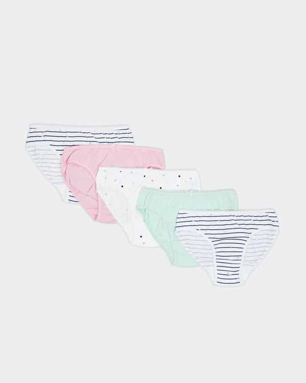 Girls Briefs - Pack Of 5 (2-14 Years)