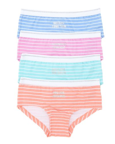 4Pk Girls Short Shape Brief