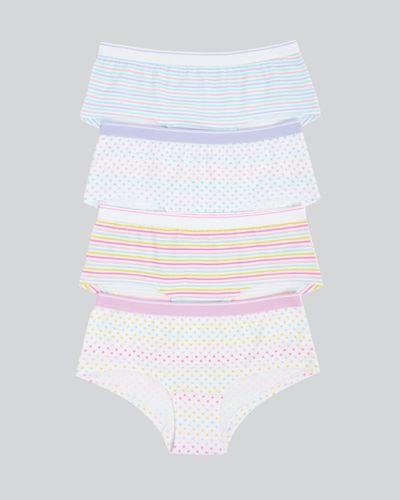 Girls Short Shape Briefs - Pack Of 4