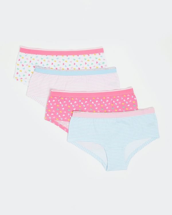 Girls Shorts - Pack Of 4