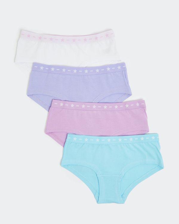 Girls Shorts - Pack Of 4 (2-14 years)