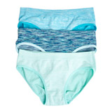 mint Girls Seamfree Briefs - Pack Of 3