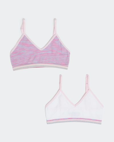 Seamfree Strappy Crop Top - Pack Of 2 thumbnail
