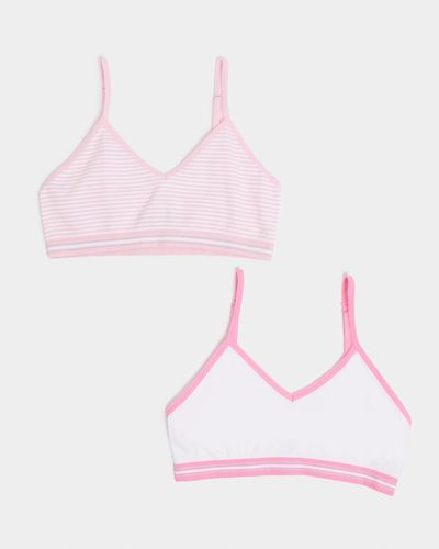 Seamfree Strappy Crop Top - Pack Of 2