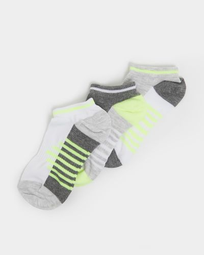 Boys Performance Sports Socks - Pack Of 3 thumbnail