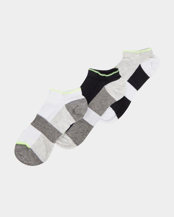 Boys Performance Sports Socks - Pack Of 3