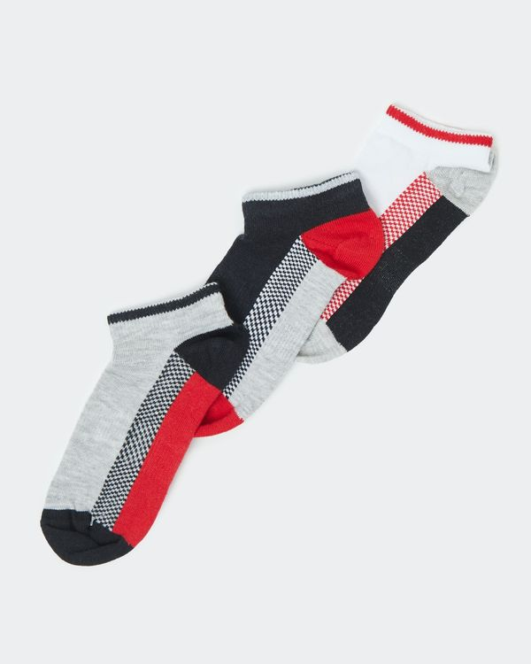 Boys Performance Sports Socks - Pack Of 3