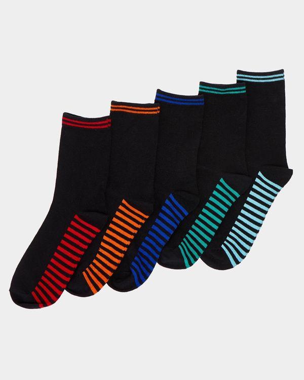 Boys Crew Socks - Pack Of 5