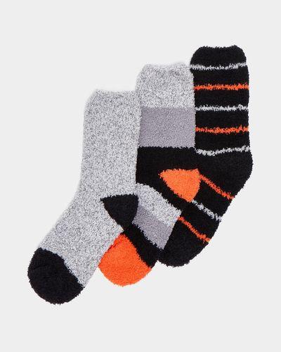 Fluffy Socks - Pack Of 3 thumbnail