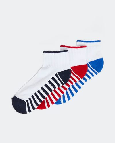 Crop Rib Sports Socks - Pack of 3 thumbnail