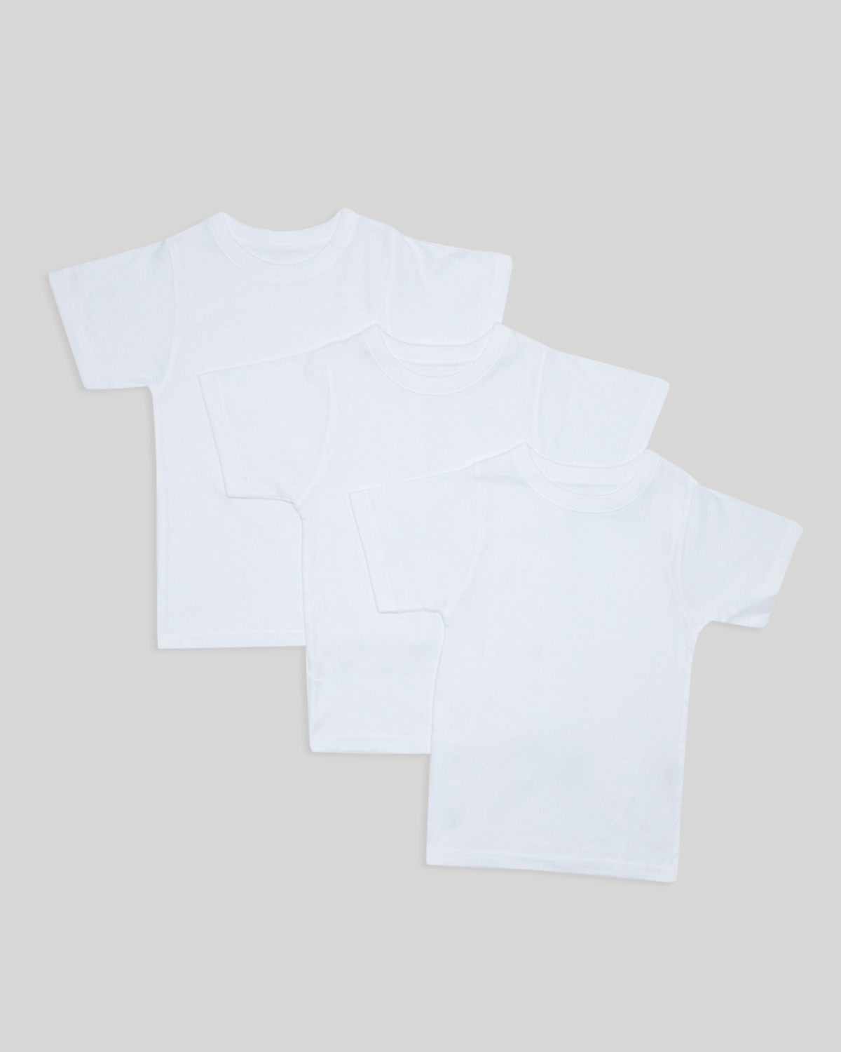 South Island Boys 3 pack  short T shirt set 6-7 years