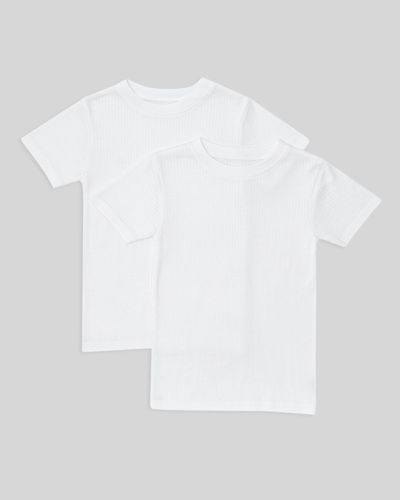 Boys Thermal Short Sleeve Tops - Pack Of 2 thumbnail