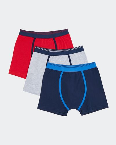 Boys Jersey Trunks - Pack Of 3 thumbnail