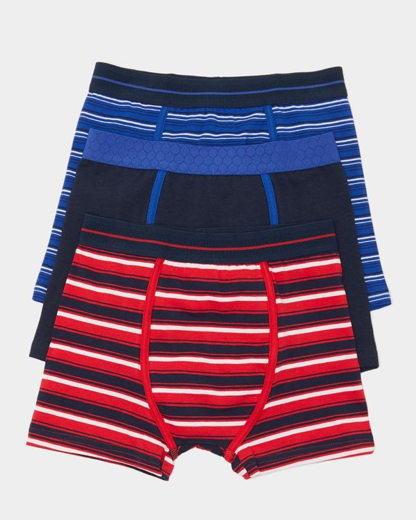 Boys Jersey Trunks - Pack Of 3