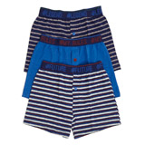multi Boys Jersey Boxers - Pack Of 3