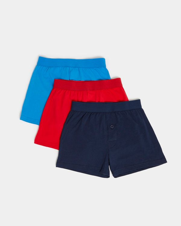 3Pk Jersey Boxer Woven Waistband