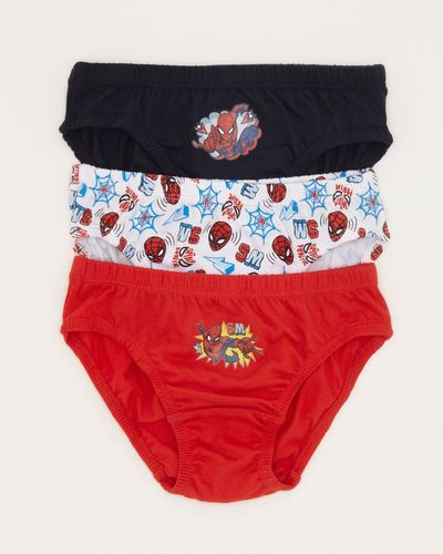 Spiderman Briefs - Pack Of 3 thumbnail