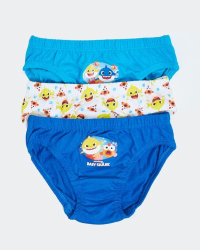 Baby Shark Briefs - Pack Of 3 thumbnail