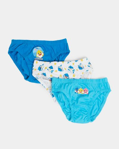 Baby Shark Briefs - Pack Of 3 thumbnail