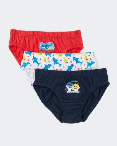 Baby Shark Briefs - Pack Of 3
