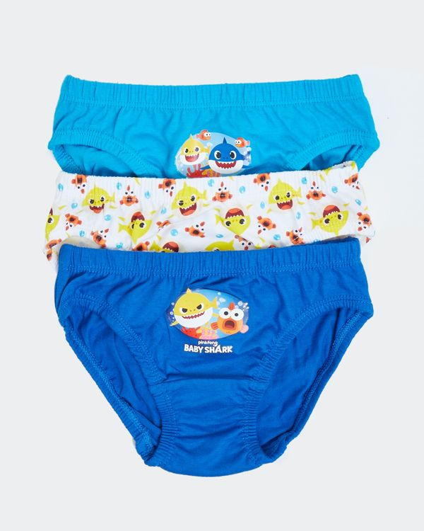 Baby Shark Briefs - Pack Of 3