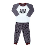 grey Boys Micro Fleece Pyjamas