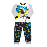 grey-marl Boys Batman Pyjamas