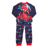 navy Boys Spiderman Pyjamas