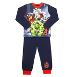 blue Boys Avengers Pyjamas
