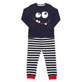 navy Boys Monster Pyjamas