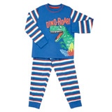 blue Boys Dino Pyjamas