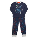navy Boys Galaxy Pyjamas