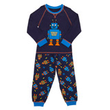 blue Robot Pyjamas