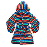 navy Boys Stripe Robe