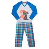 blue Boys Meerkat Pyjamas