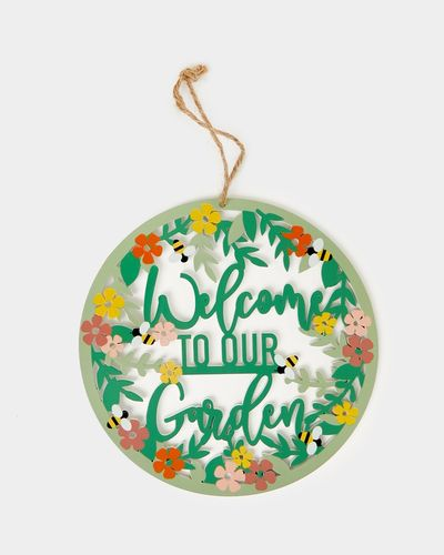 Welcome Garden Sign thumbnail