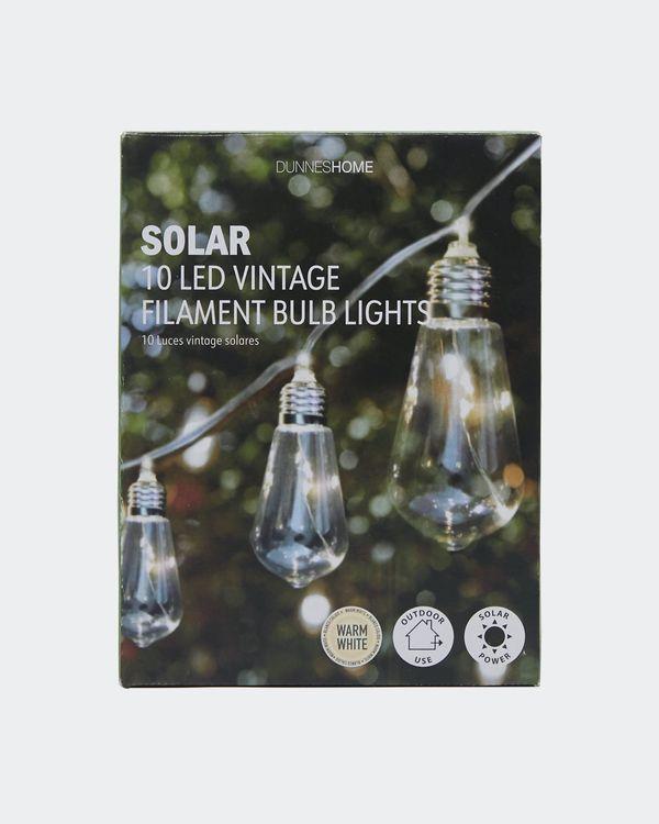 Vintage Solar Bulbs