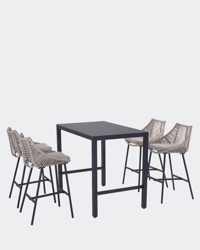 Soho High Table And 4 Chairs