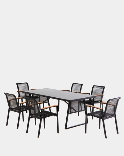 Oslo Table And 6 Chairs