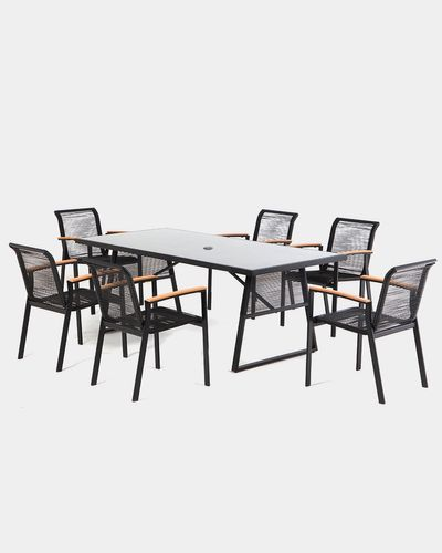 Oslo Table And Six Chairs