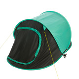 green Two Person Easy Pitch Tent