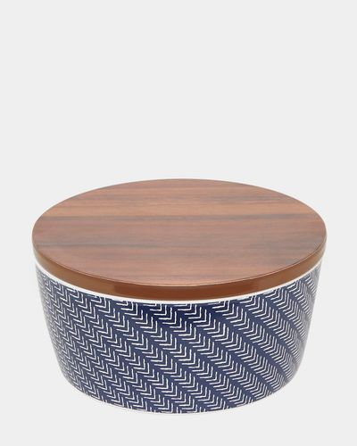 Azul Salad Bowl With Lid