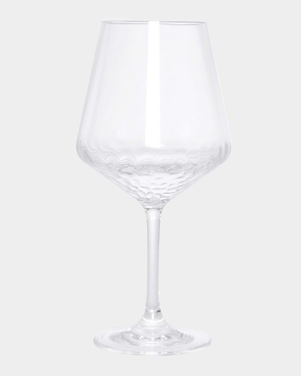 Hammered Wine Glass