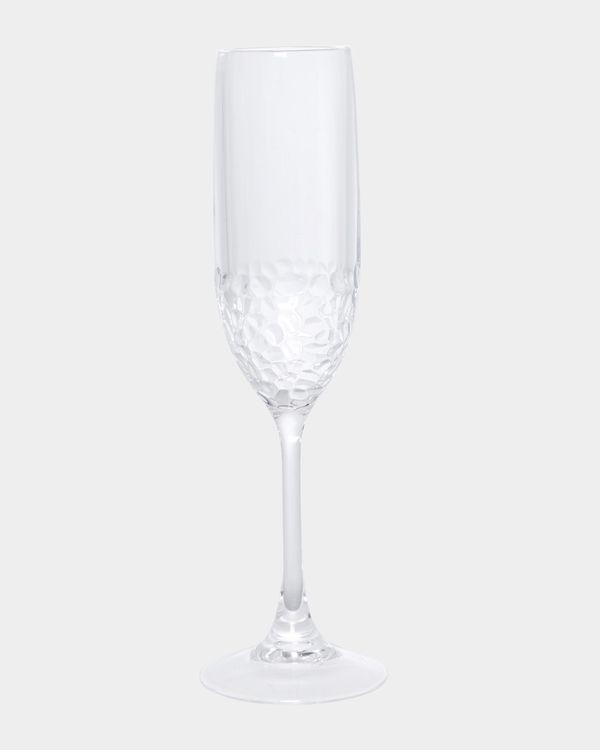 Hammered Champagne Flute