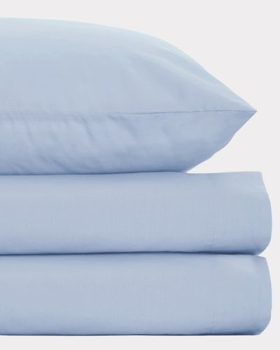 Non Iron Percale Fitted Sheet 180 Thread Count - Double
