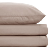 mink Egyptian Cotton Fitted Sheet - Super King