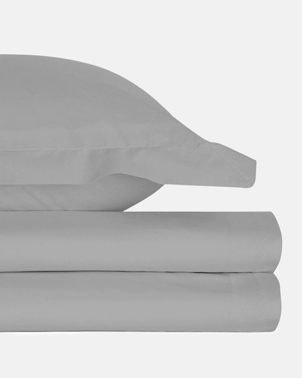 Pure Cotton Flannelette Fitted Sheet - Single