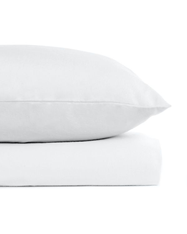 Pure Cotton Flannelette Fitted Sheet - Double