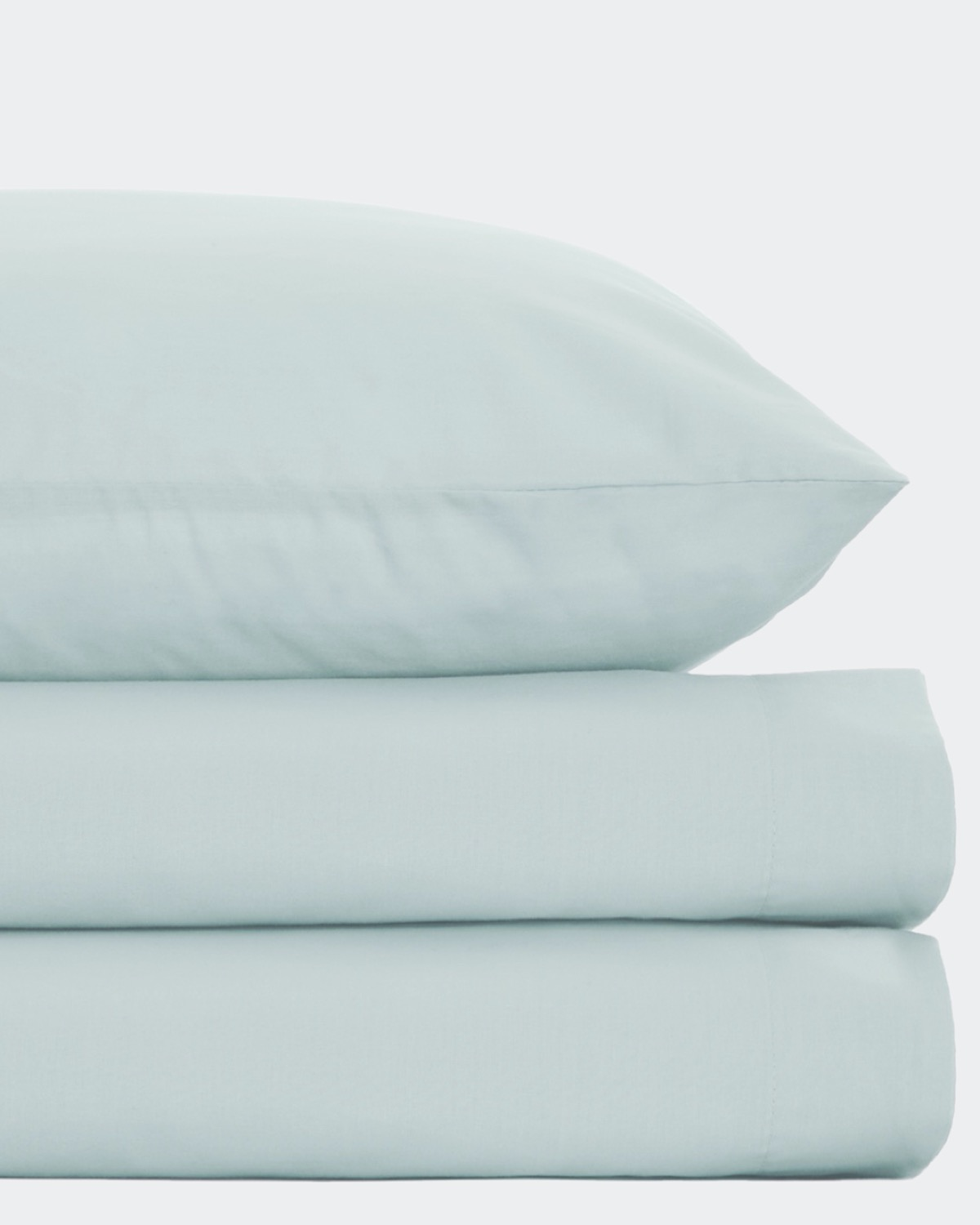 Non Iron Percale Flat Sheet 180 Thread Count - Single thumbnail