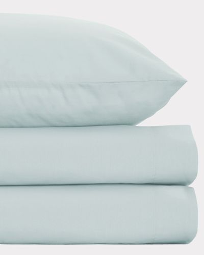 Non Iron Percale Flat Sheet 180 Thread Count - Double thumbnail